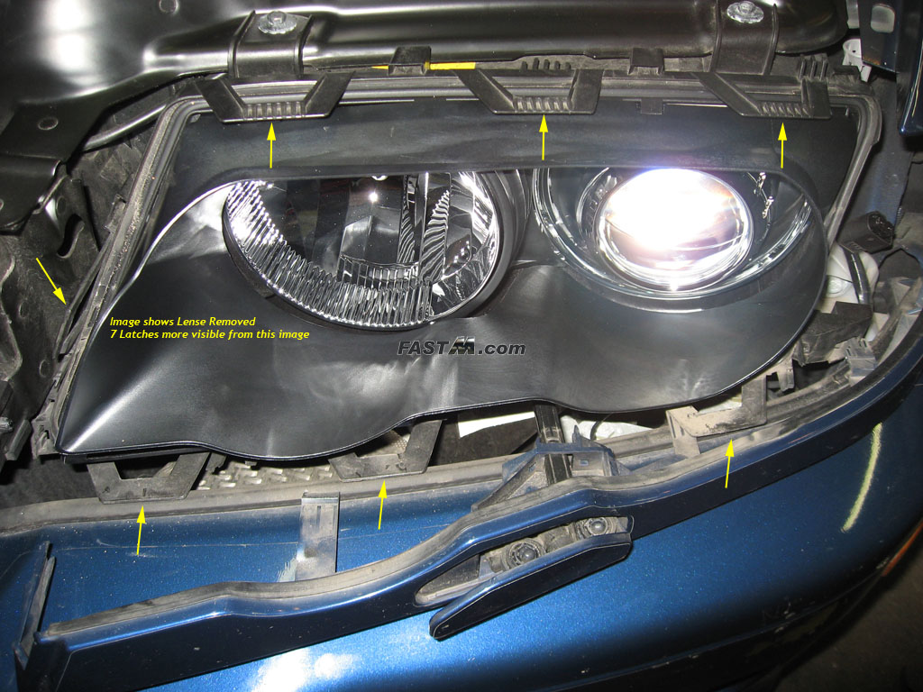 20035 Bmw M3 Diy Guide For Ccfl Angel Eyes Wiring Harness Clips Image