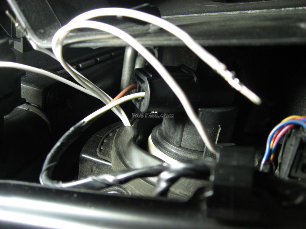 Bmw Wiring Harness Tape Electrical Work Diagram Fastm Com 2003 5 M3 Diy Guide For 60led Angel Eye Kit Rh R80 Schematic