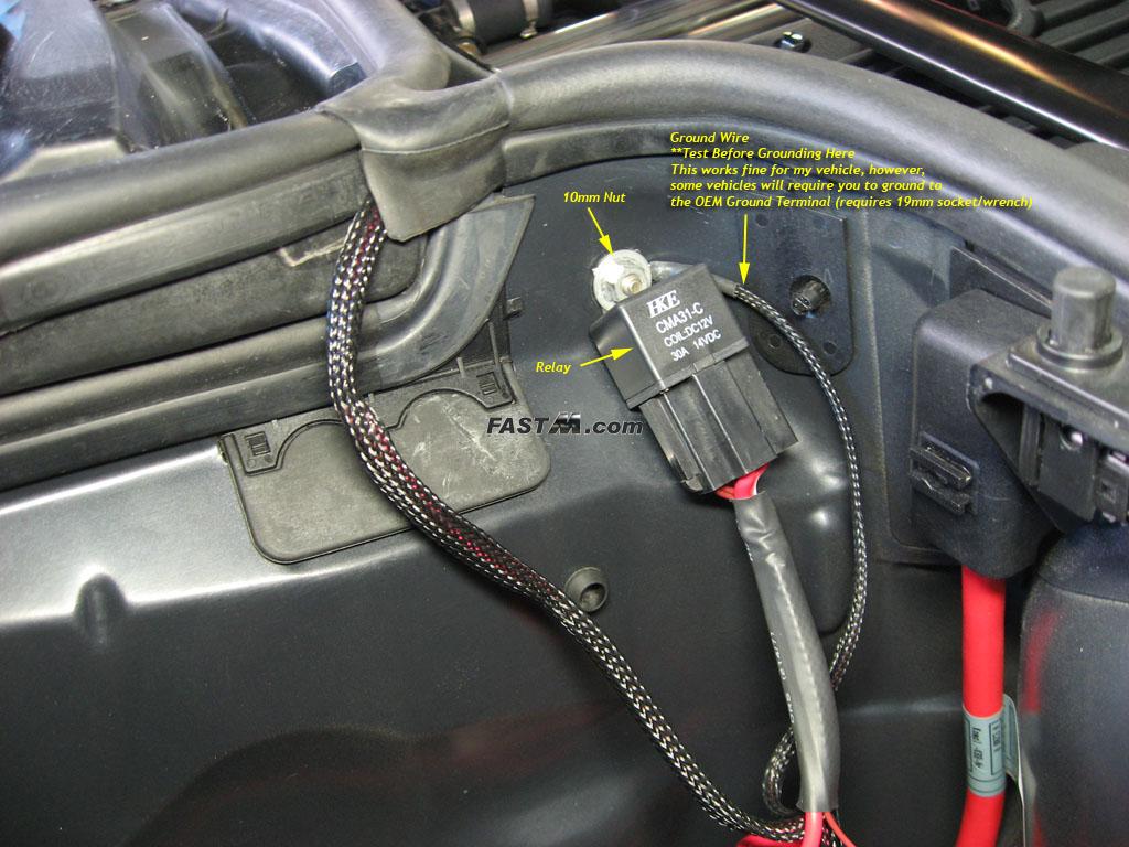 20035 Bmw M3 Diy Guide For 60led Angel Eye Kit E39 Fuse Relay Box Transmissions Image